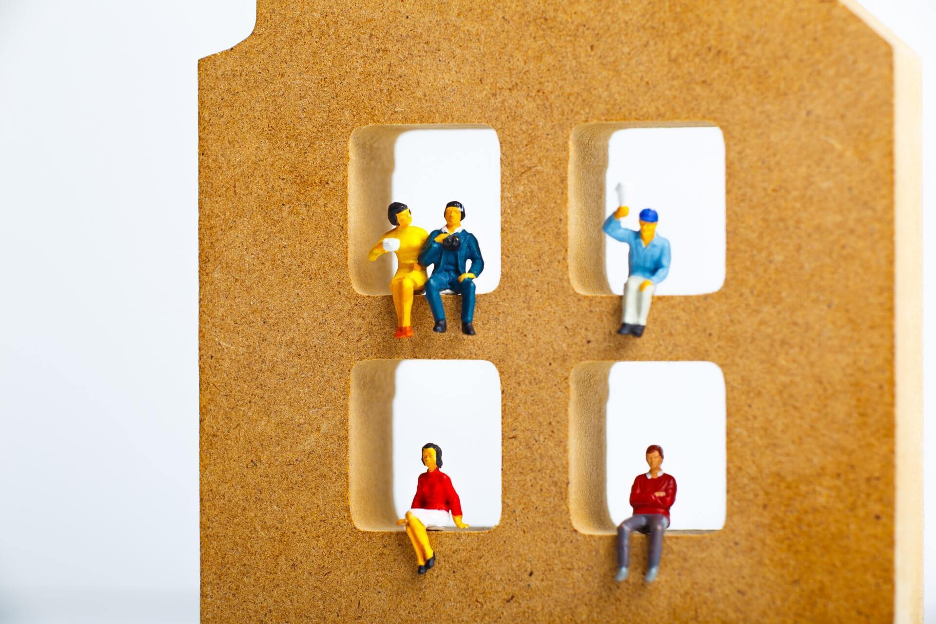 建物別に見た賃貸収入の目安