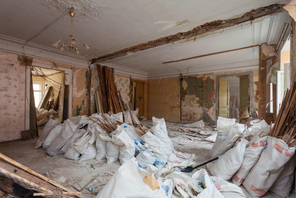 家の解体工事の流れ